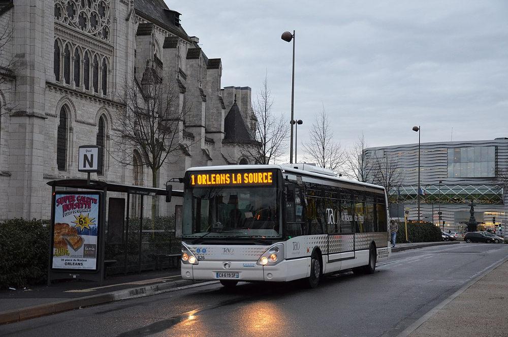 bus orléans